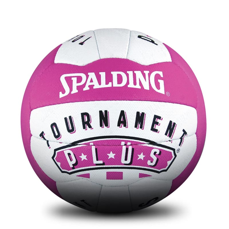 Tournament Plus Netball - White/Pink