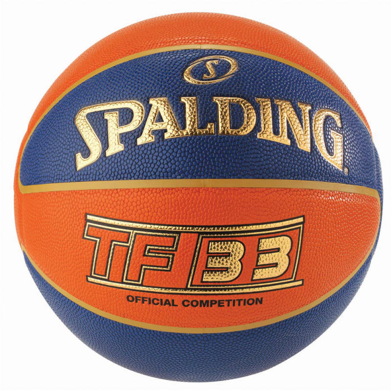 TF33 INDOOR GAME BALL - BLUE/ORANGE - Size 6