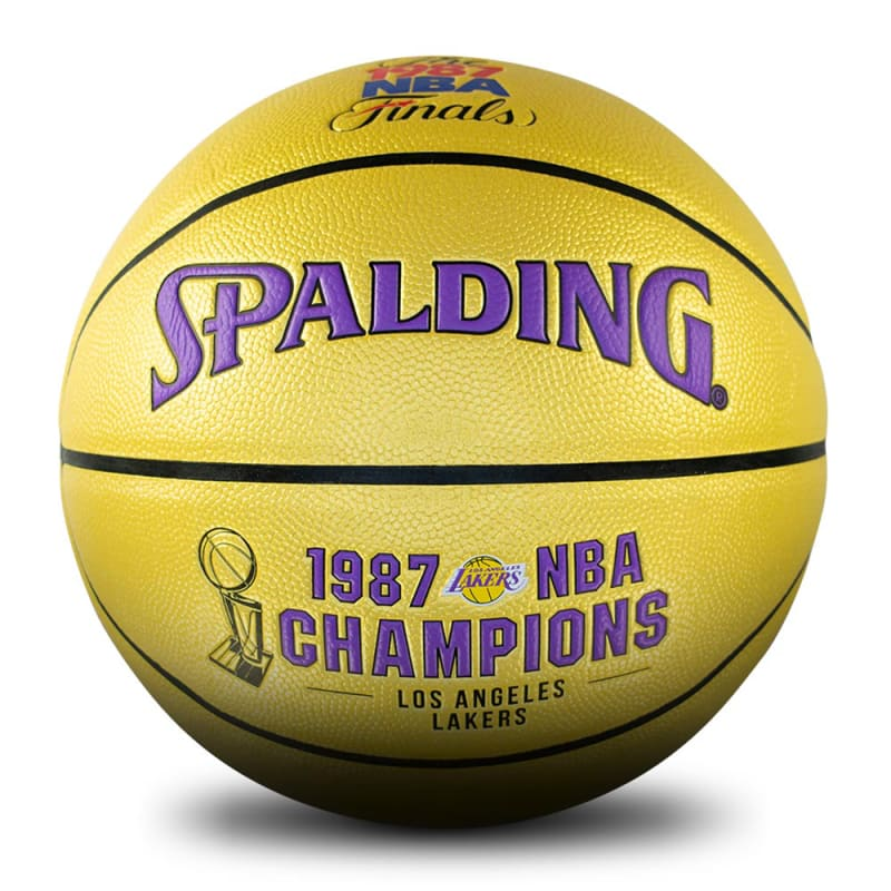 Los Angeles Lakers 1987 NBA Champions Ball
