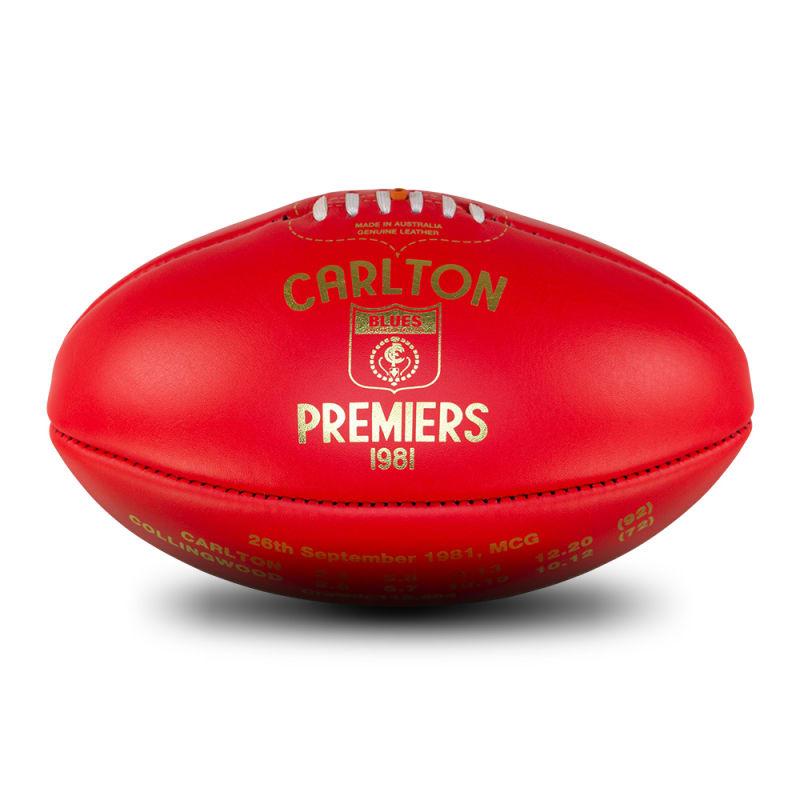 1981 Premiers Ball - Carlton Blues