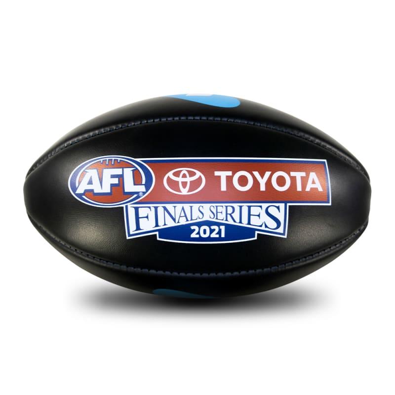 2021 Toyota AFL Finals Series Game Ball - Black