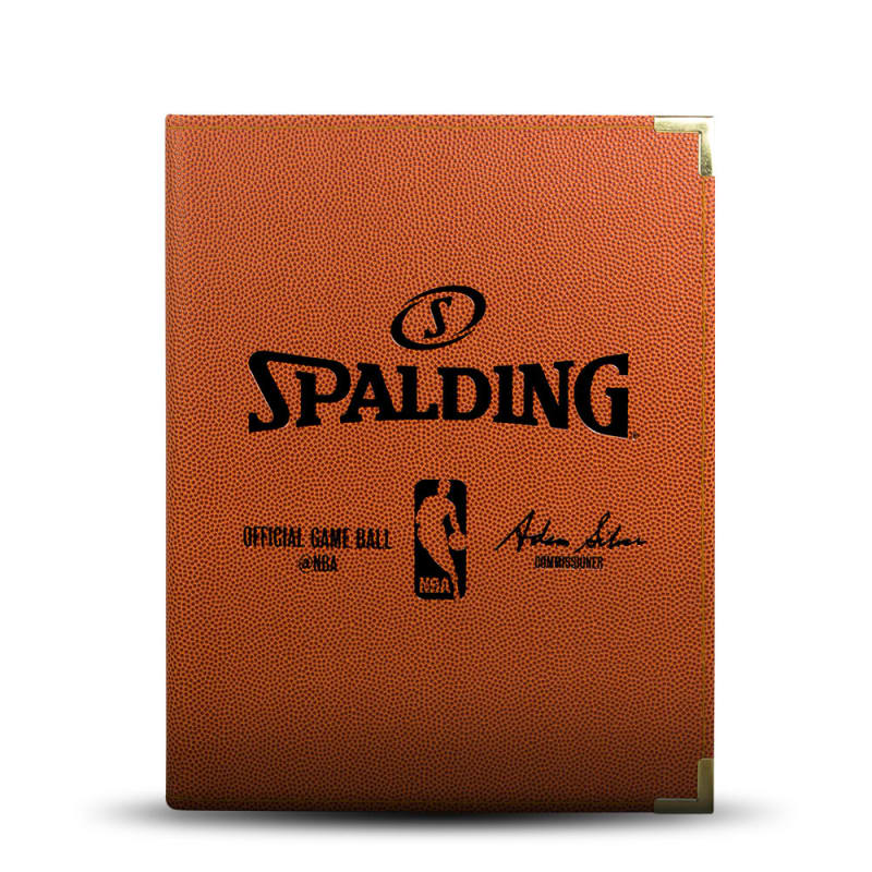 Spalding NBA Folder - A4 Orange
