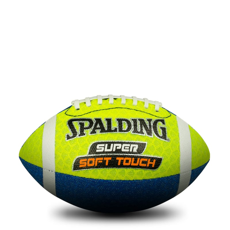 Super Soft Gridiron Football - Yellow/Blue
