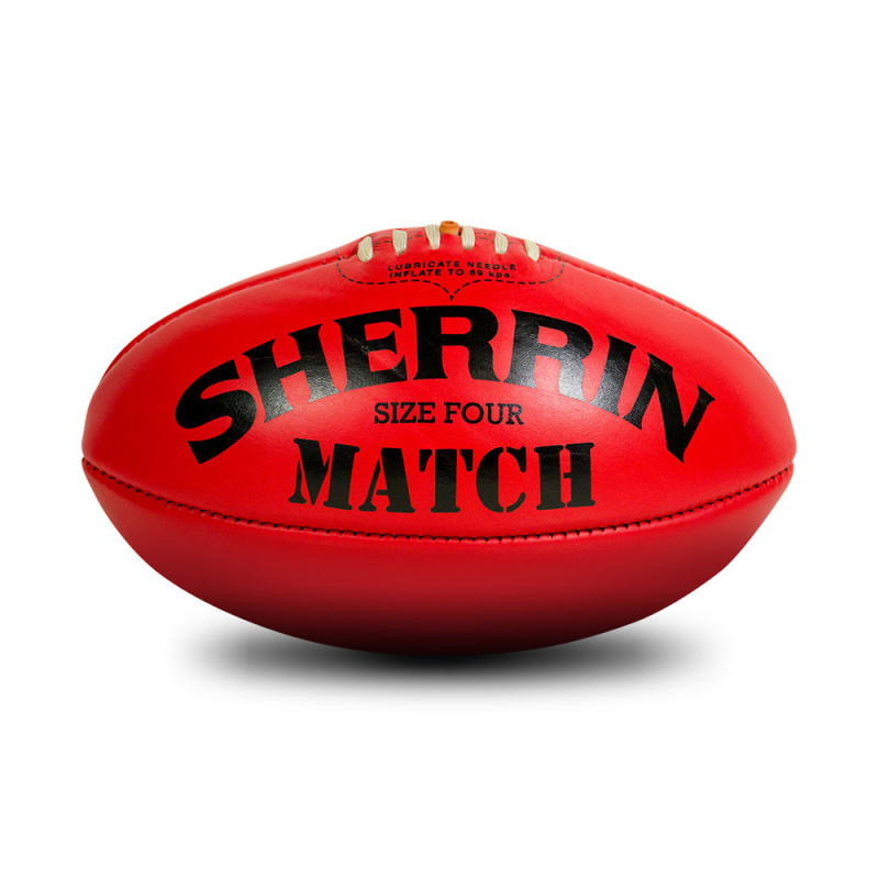Match Game Ball - Red - Size 4