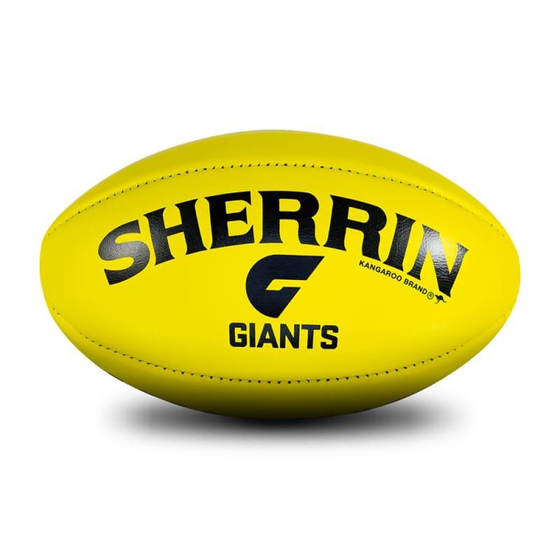 GWS Game Ball - Yellow