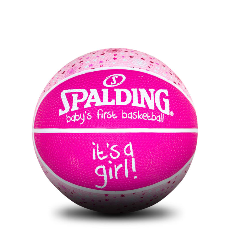 Baby's 1st Basketball - Size 1 - It's a Girl