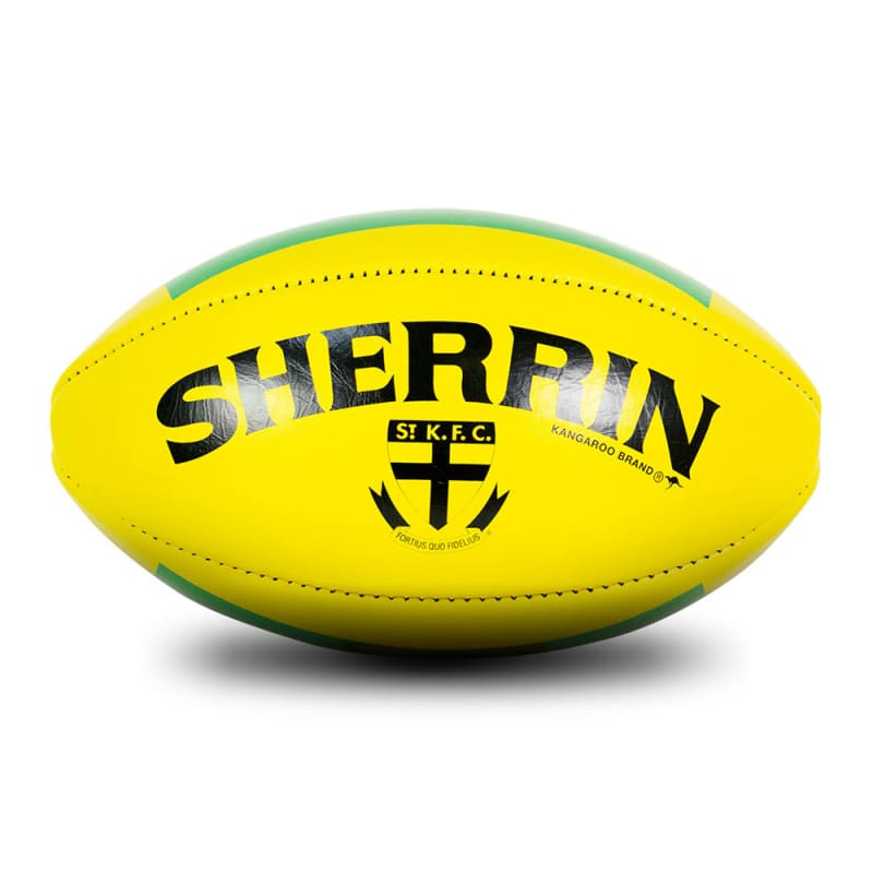 St Kilda Game Ball - Yellow