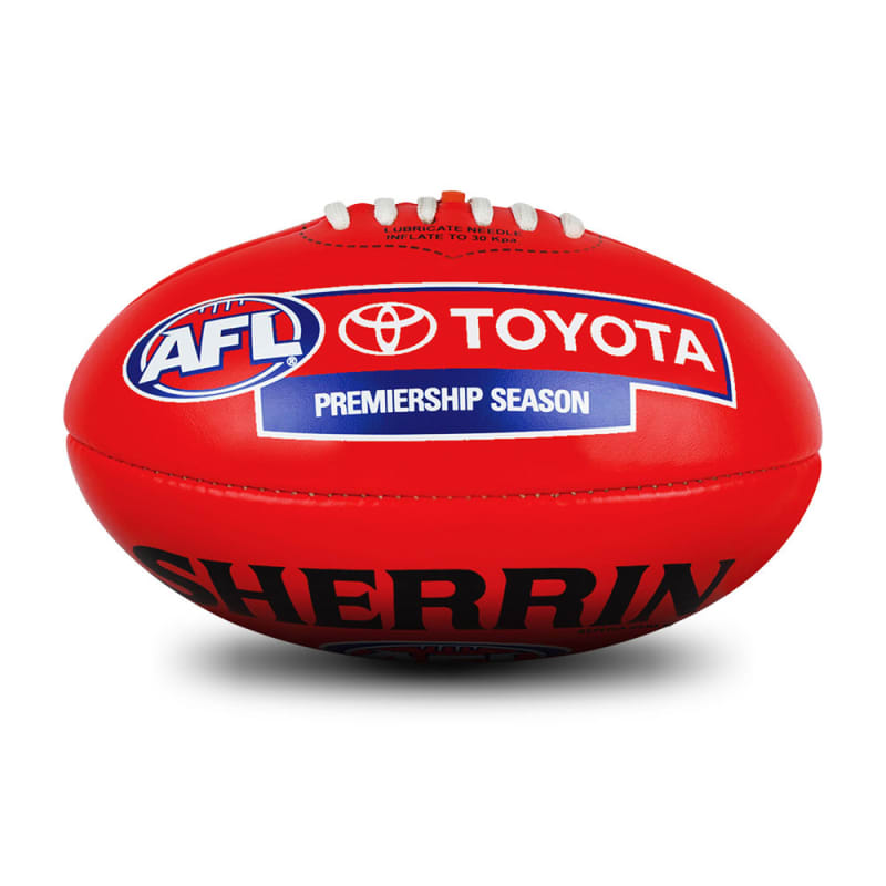 AFL Replica PVC Ball - Red
