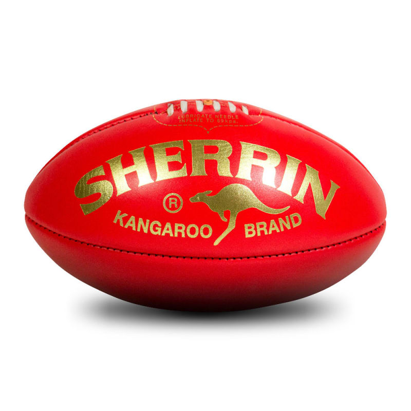 KB Game Ball - Red/Gold - Size 5