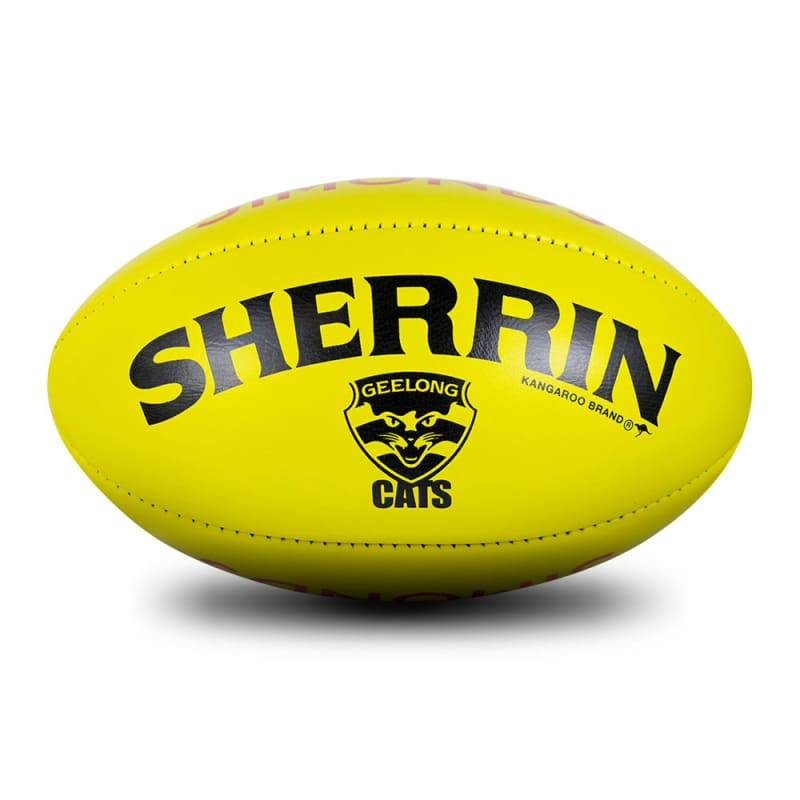 Geelong Game Ball - Yellow