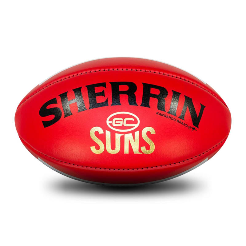 Gold Coast Game Ball - Red