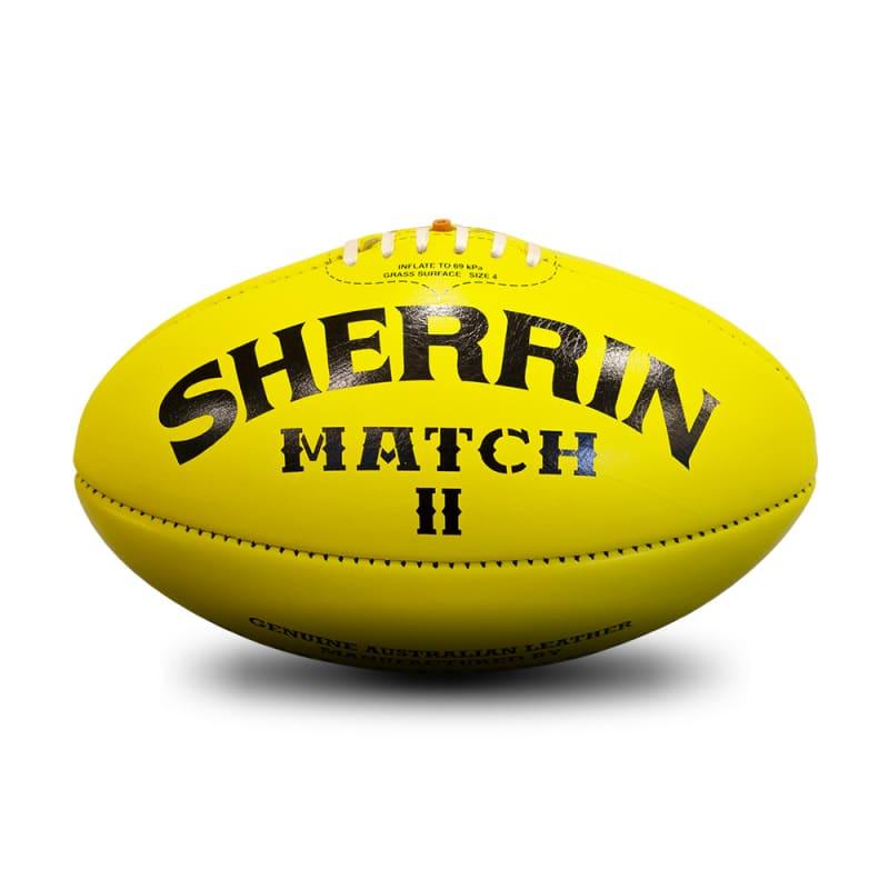 Match Game Ball - Yellow - Size 4