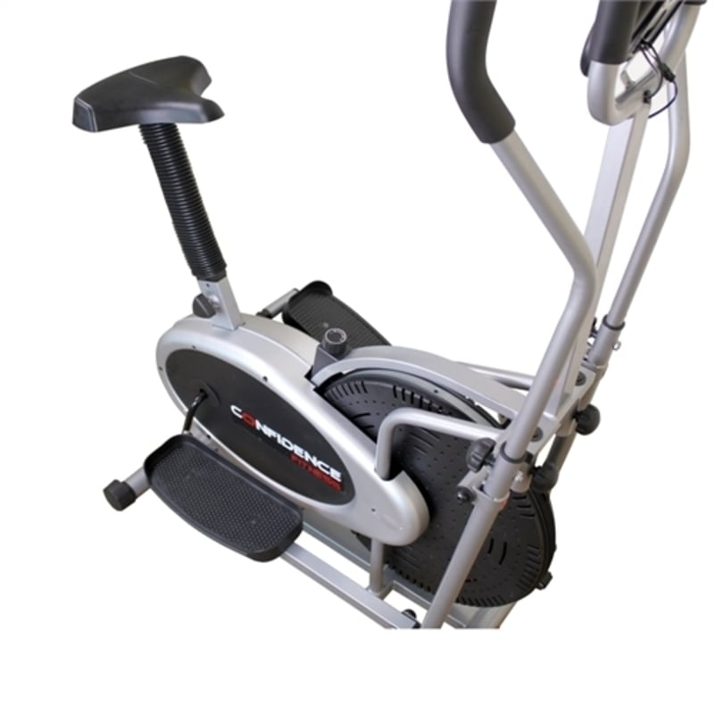 Elliptical Vs Bike For Weight Loss: Confidence PRO 2-in-1 Elliptical Cross Trainer