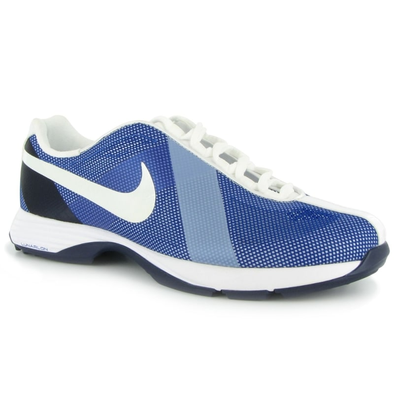3584f8197c59e Nike Lunar Summer Lite Ladies Golf Shoes Hyper Blue White - Golf Outlets of  America - Golf Outlets of America