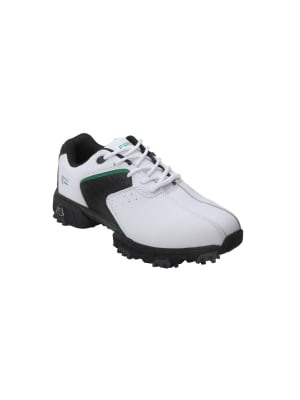 Forgan Golf V3 Leather Golf Shoes White/Black