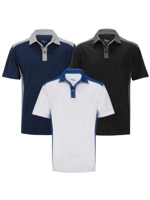 Forgan of St Andrews Select Premium Golf Polo Shirt 3 Pack - Mens