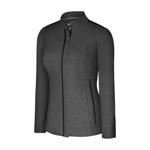 Adidas adiPURE Ladies Stretch Knit Jacket Black - Size 8