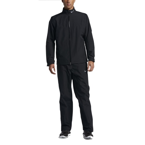 Nike HyperShield Waterproof Mens Golf Suit Black