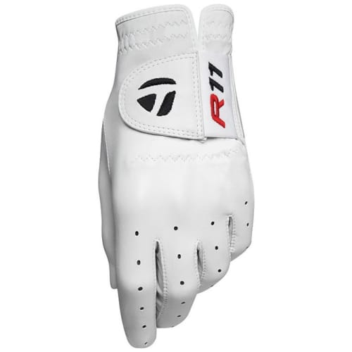 TaylorMade R11 Golf Glove - White Extra Large
