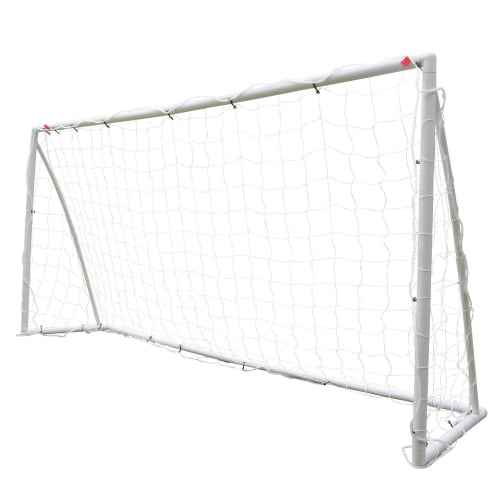 OPEN BOX Woodworm 8 x 4 ft Plastic Soccer Goal