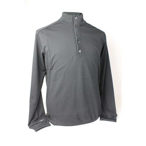 Adidas Mens Button Mock Pullover