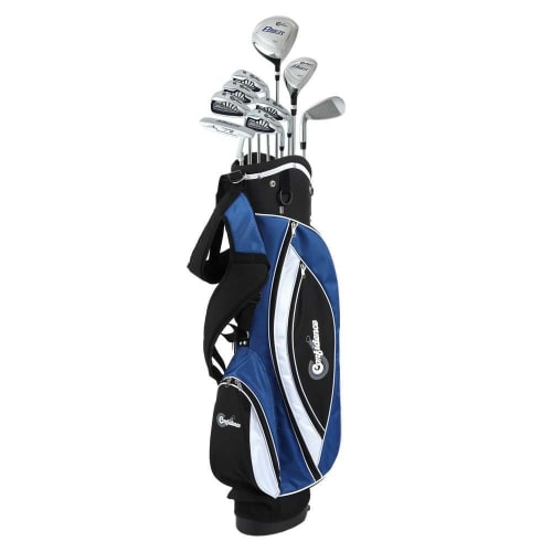 Confidence Golf Mens Power V3 Club Set and Stand Bag
