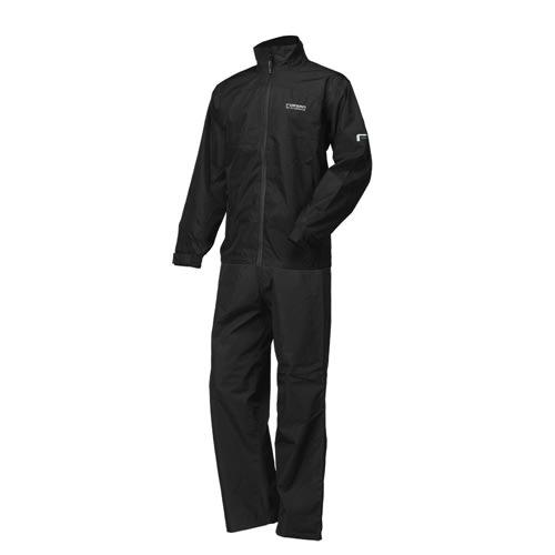 Forgan Waterproof Breathable Mens Rainsuit Black