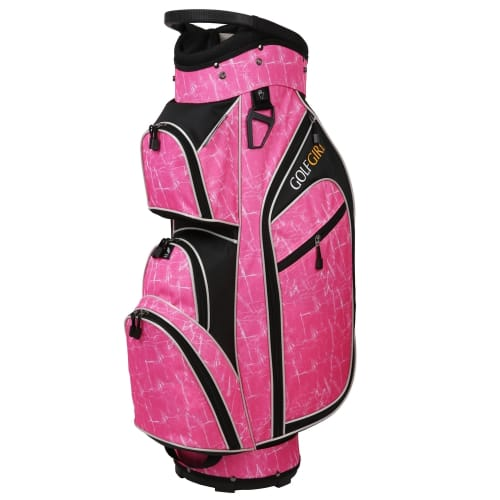 Golf Girl Ladies 14 Way Trolley Bag - Pink