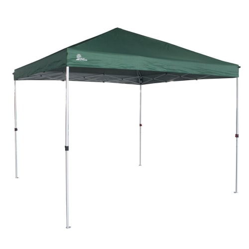 Palm Springs Gazebo Tent Instant Pop-Up Shelter with Wheeled Carry Bag, 3x3M, Green