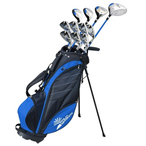 Palm Springs Visa V2 Graphite/Steel Golf Club Set and Bag +1