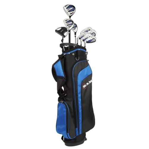 Ram Golf EZ3 Mens Golf Clubs Set with Stand Bag - Graphite/Steel Shafts - Lefty