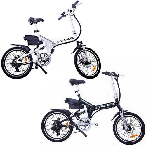 Cyclamatic CX4 Pro Folding Electric Bike