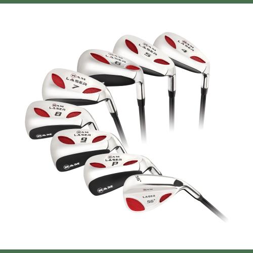 Ram Golf Laser Steel Hybrid Irons Set 4-SW (8 Clubs) - Mens Right Hand