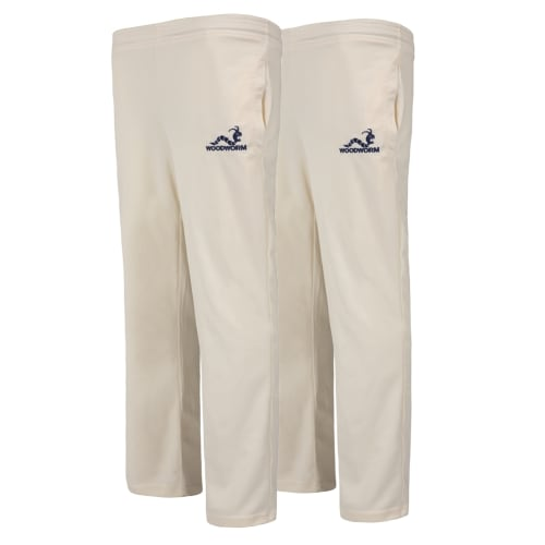 Woodworm Pro Series Cricket Trousers - 2 Pack