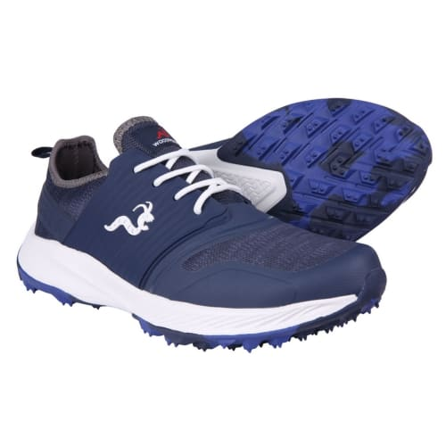 Woodworm Flame Mens Golf Shoes - Sneaker/Trainer Style - Navy