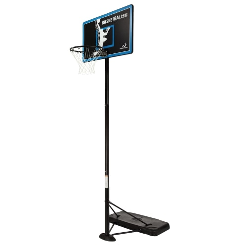 Woodworm TX100 Outdoor Adult Full Size Basketball Hoop System with Base