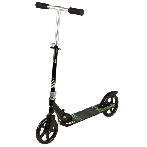 OPEN BOX ZAAP Pro X1 Folding Kick Scooter with Adjustable Handlebar - Black