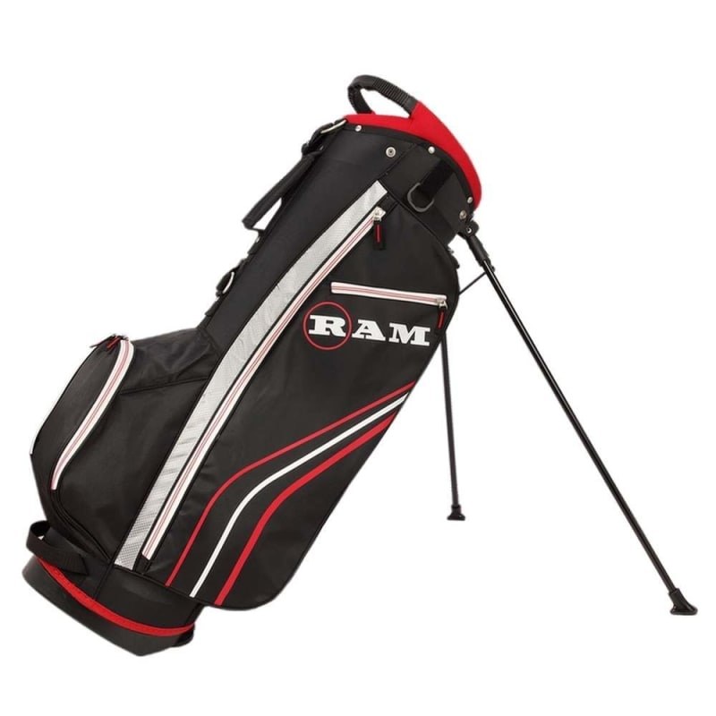 Ram Golf Accubar 12pc Golf Clubs Set - Graphite Shafted Woods, Steel Shafted Irons - Mens Right Hand #6