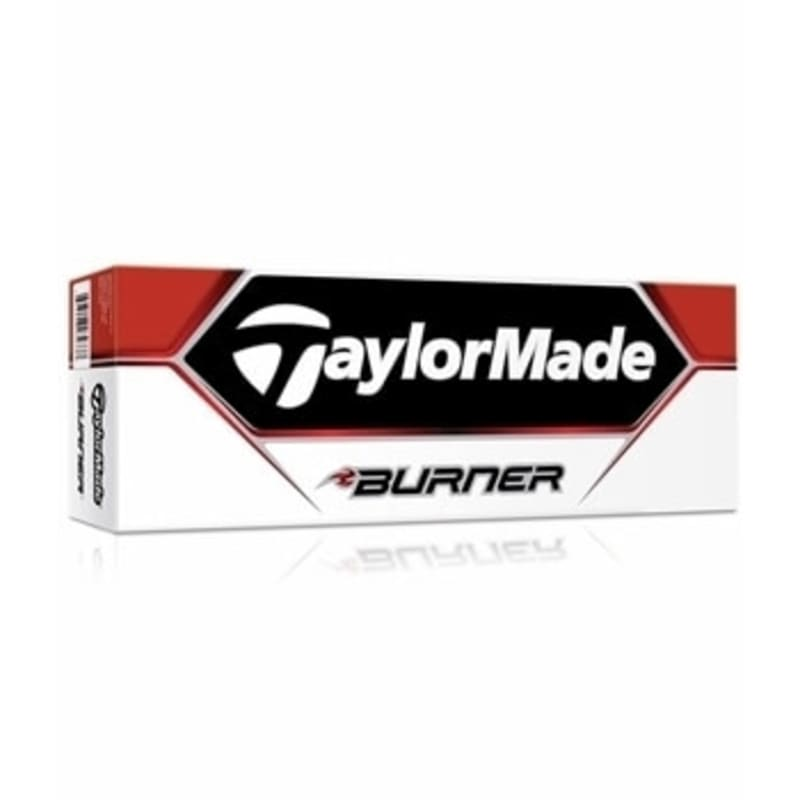 12 TaylorMade Burner Golf Balls - Yellow