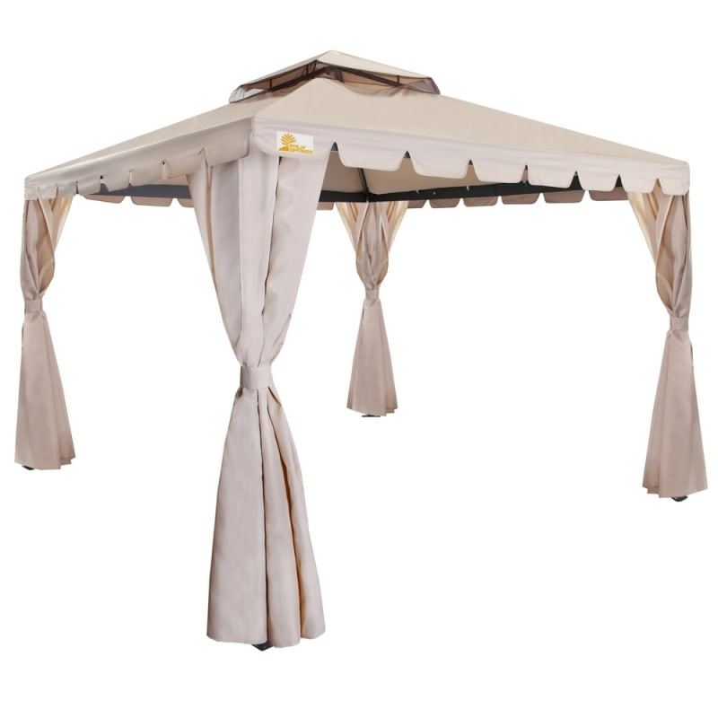 Palm Springs 10' x 10' Deluxe Gazebo / Party Tent #