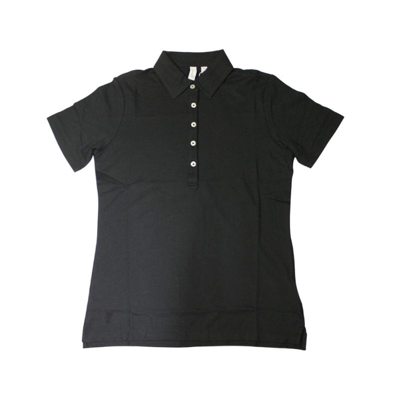 Ashworth Ladies 5 button Plain Polo Shirt