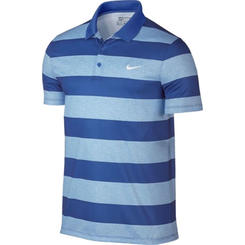 superficie Intacto Sobriqueta  Nike Golf Modern Fit Victory Bold Stripe Polo - Blue - GolfGear.co.uk -  GolfGear