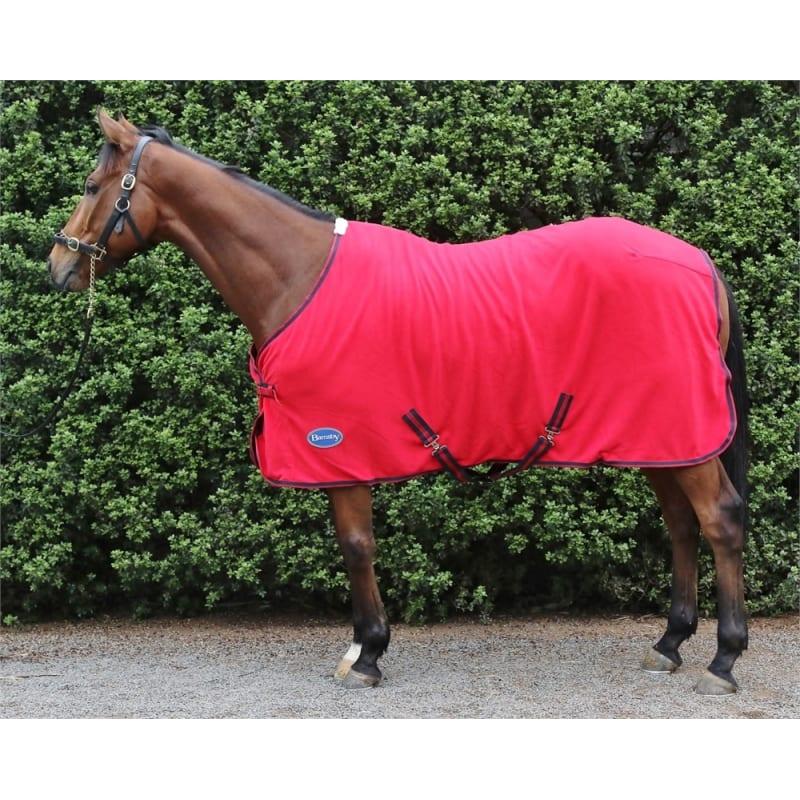 Barnsby Equestrian 270g Fleece Sheet Horse Cooler / Blanket Liner / Rug