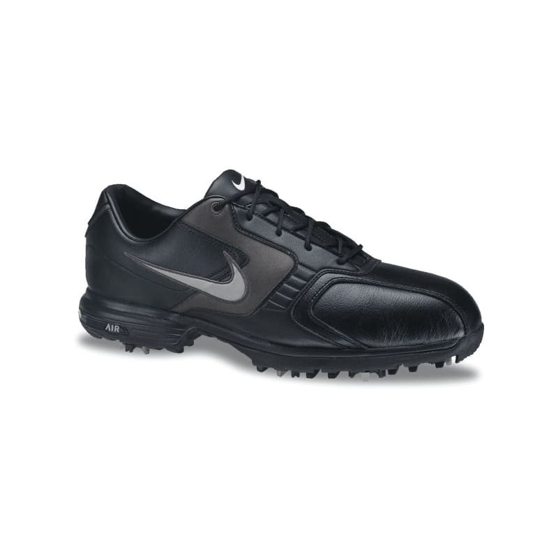 Nike Air Tour Saddle Plus Golf Shoes Black/Silver