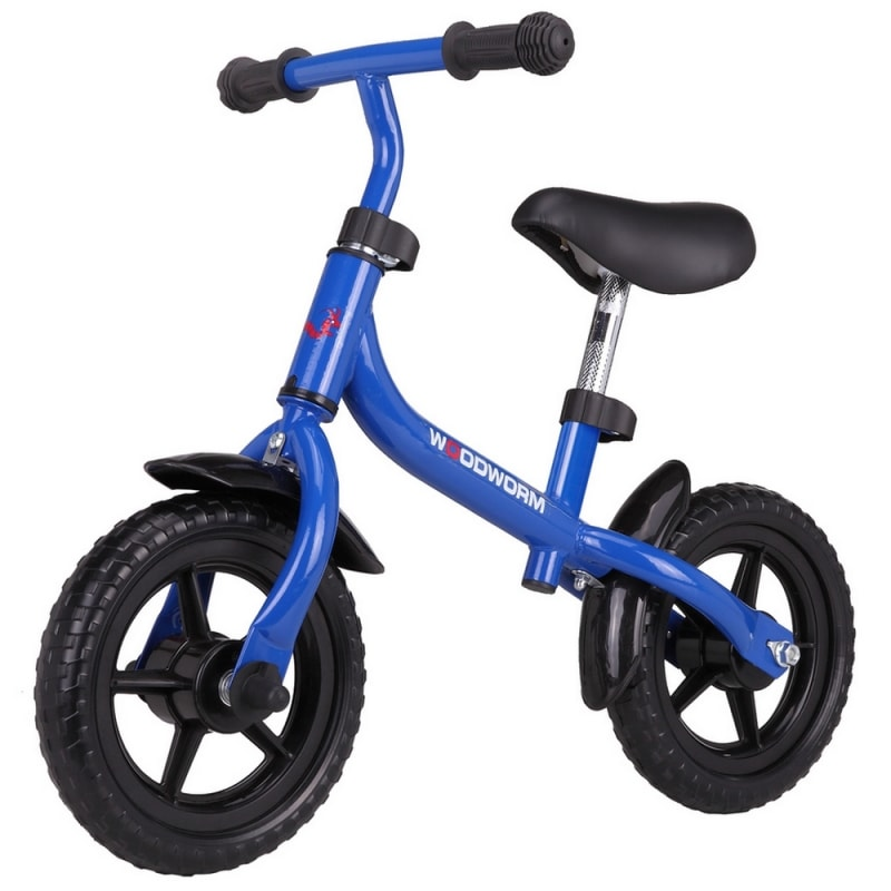 Woodworm Children's Learning / Balance Bike Blue