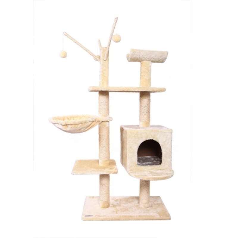 Ex-Demo Confidence Pet Executive Cat Tree - Beige
