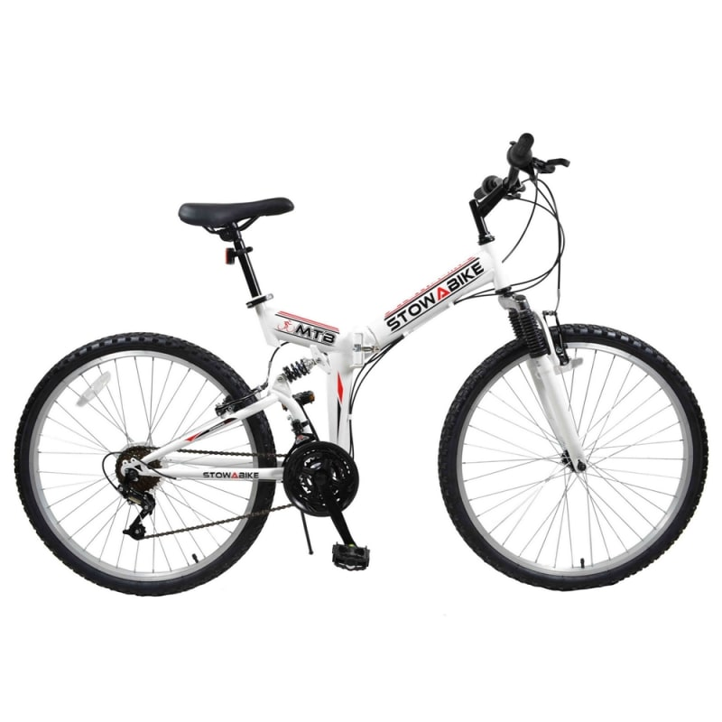 Ex-Demo Stowabike Folding MTB V2 Mountain Bike Red / White