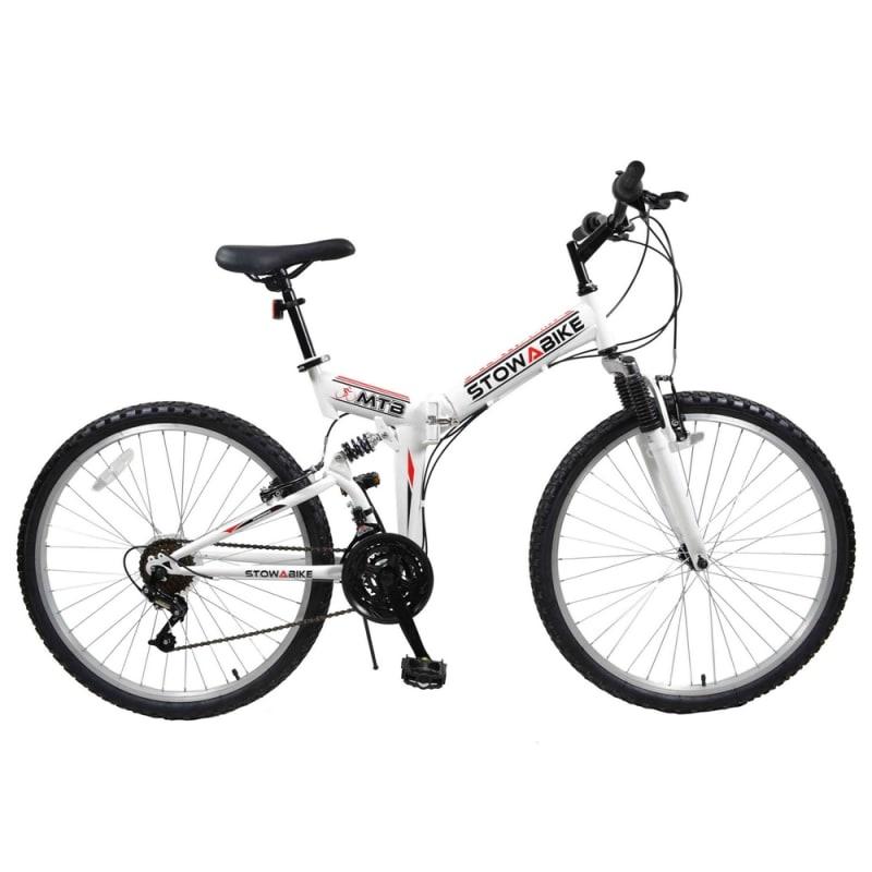 Ex-Demo Stowabike Folding MTB V2 Mountain Bike Red / White