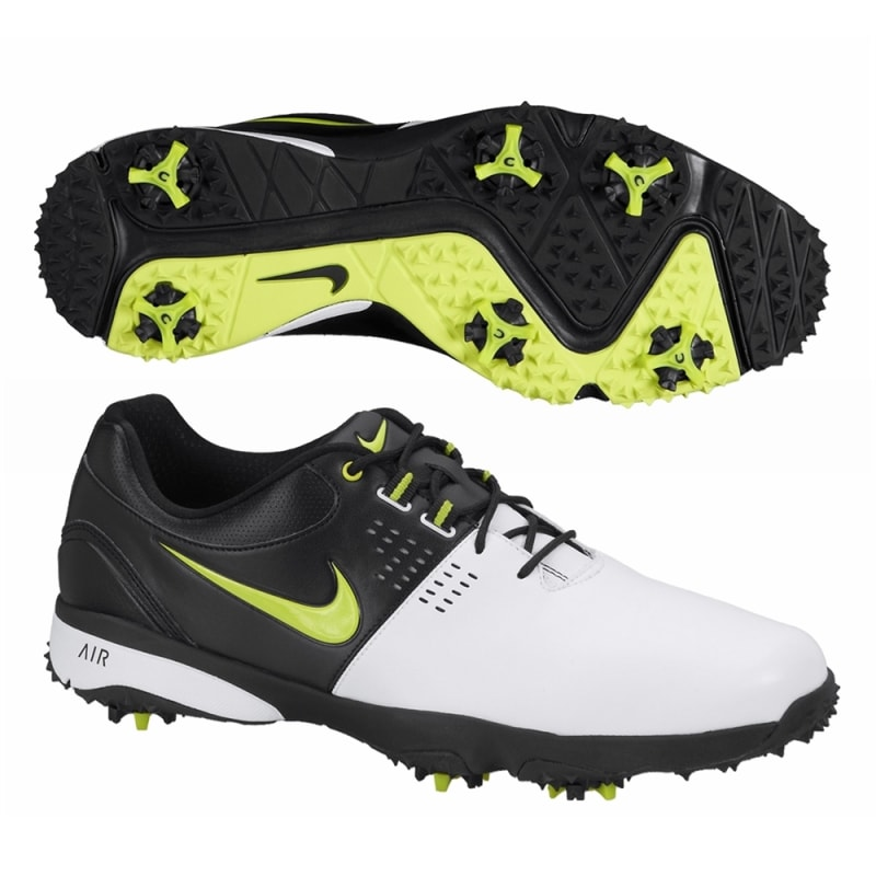 Nike Air Rival III Golf Shoes - White / Black / Green