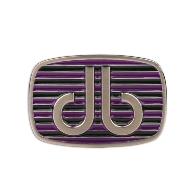 Druh Stripe Buckle Purple / Black